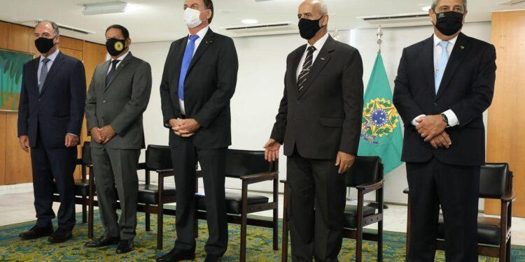 (Brasília - DF, 06/04/2021) Solenidade de Transmissão de Cargo de Ministro de Estado da Defesa, Braga Netto. Fotos: Marcos Corrêa/PR